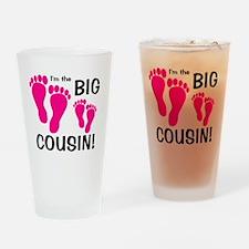 3-imthebigcousin_pinkfeet_pinkfeet Drinking Glass