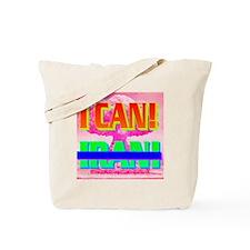 I CANxIRAN(square) Tote Bag