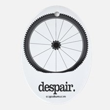 Despair Oval Ornament