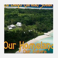 LGSquare-OurHomeland.gif Tile Coaster