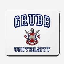 GRUBB University Mousepad