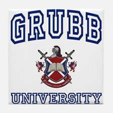 GRUBB University Tile Coaster