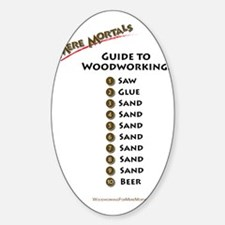 Guide to Woodworking Decal