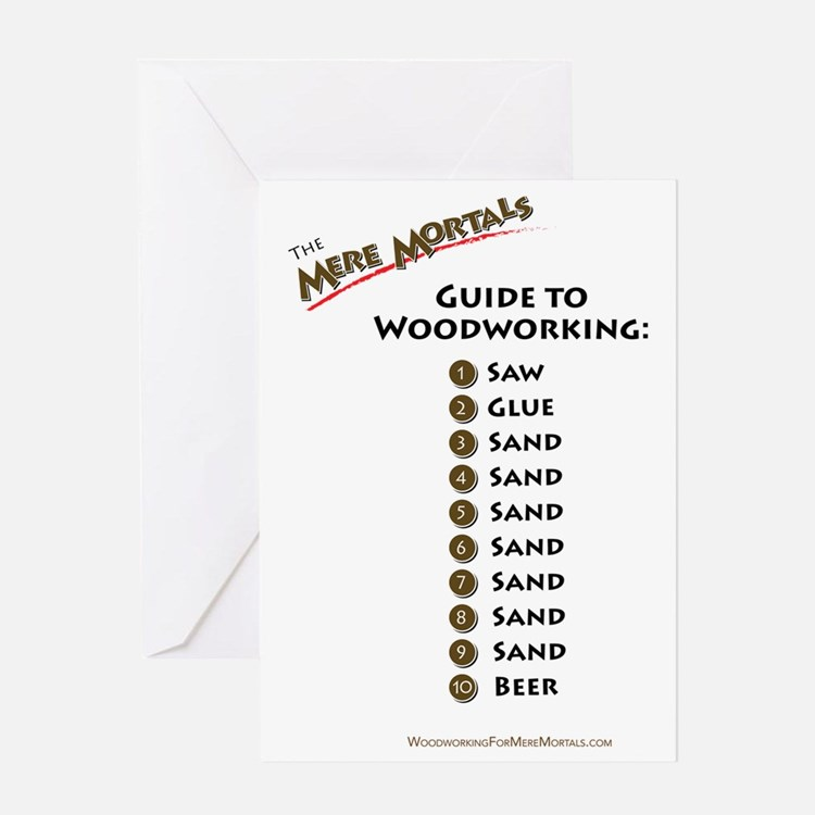 Guide to Woodworking Greeting Card