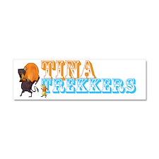 Trekkers2 Car Magnet 10 x 3