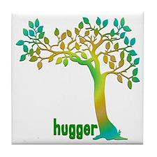 hugHuggerTreeTR Tile Coaster