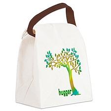hugHuggerTreeTR Canvas Lunch Bag