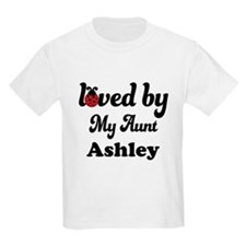 Loved By My Aunt Personalized T-Shirt