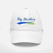 bigbrother_blue_again Baseball Baseball Cap