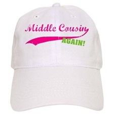 middlecousin_pink_again Baseball Cap