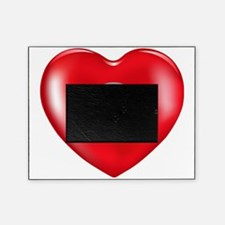 Safety Hearts Red Picture Frame