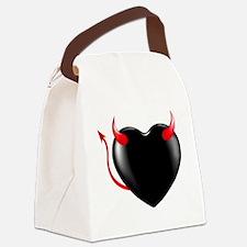 Heart Demon Canvas Lunch Bag