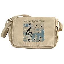 Make a joyful noise Messenger Bag