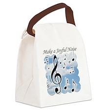 Make a joyful noise Canvas Lunch Bag
