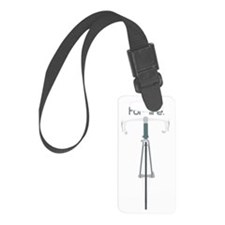 Behind Bars for Life Luggage Tag