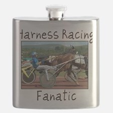 Harness Racing Fanatic Flask