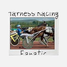 Harness Racing Fanatic Throw Blanket