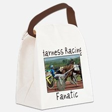 Harness Racing Fanatic Canvas Lunch Bag