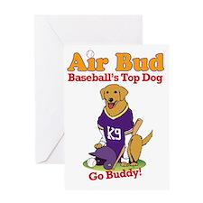 BaseballAirBud Greeting Card