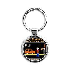 JIT Blasters Image for Shirt 4 Round Keychain