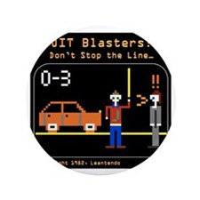 """JIT Blasters Image for Shirt 4 3.5"""" Button"""