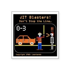 """JIT Blasters Image for Shir Square Sticker 3"""" x 3"""""""