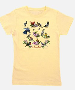 12 X T birds copy Girl's Tee