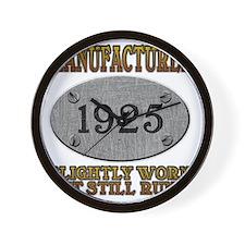 1925 Wall Clock