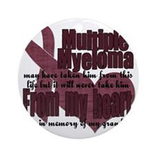 multiple myeloma grandpa Round Ornament