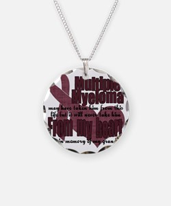 multiple myeloma grandpa Necklace
