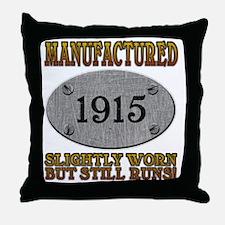 1915 Throw Pillow