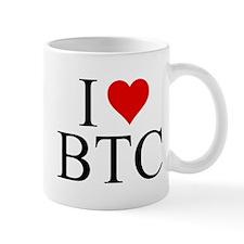 I Love BTC Mugs
