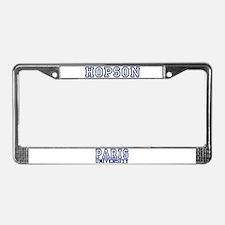 HOPSON University License Plate Frame