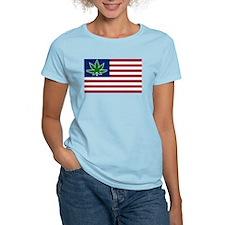 US Pot Flag T-Shirt