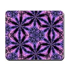 Purple Kaleidoscope Mousepad