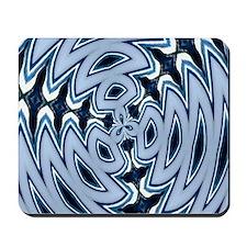 Blue Tie-Dye Mousepad