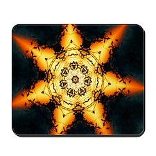 Sunset Mandala Mousepad