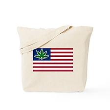 US Pot Flag Tote Bag