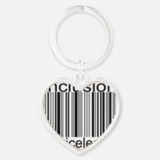 2-inclusion-priceless Heart Keychain