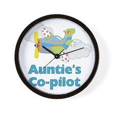 aunties copilot Wall Clock