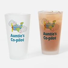 aunties copilot Drinking Glass