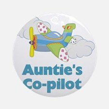 aunties copilot Round Ornament