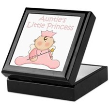 aunties little princess Keepsake Box