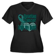 mom Women's Plus Size Dark V-Neck T-Shirt