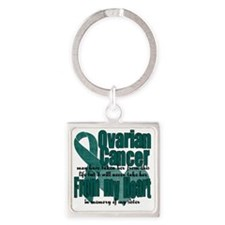 sister Square Keychain