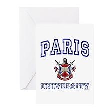 PARIS University Greeting Cards (Pk of 10)