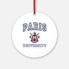 PARIS University Ornament (Round)