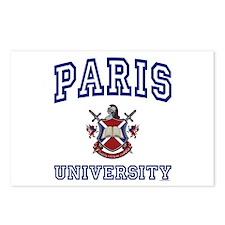 PARIS University Postcards (Package of 8)