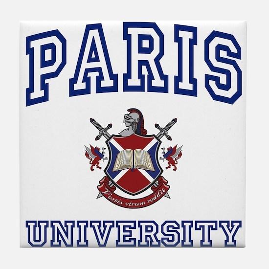 PARIS University Tile Coaster