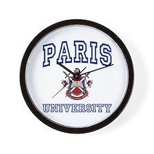 PARIS University Wall Clock